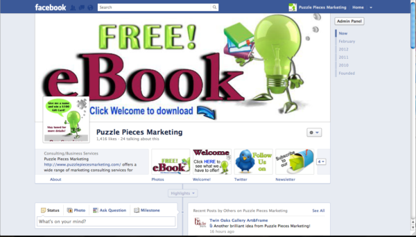 Free eBook from Puzzle Pieces Marketing