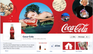 Facebook Timeline changes example of the new profile picture