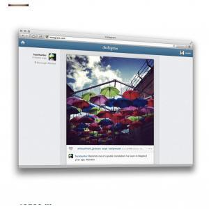 Instagram on the web