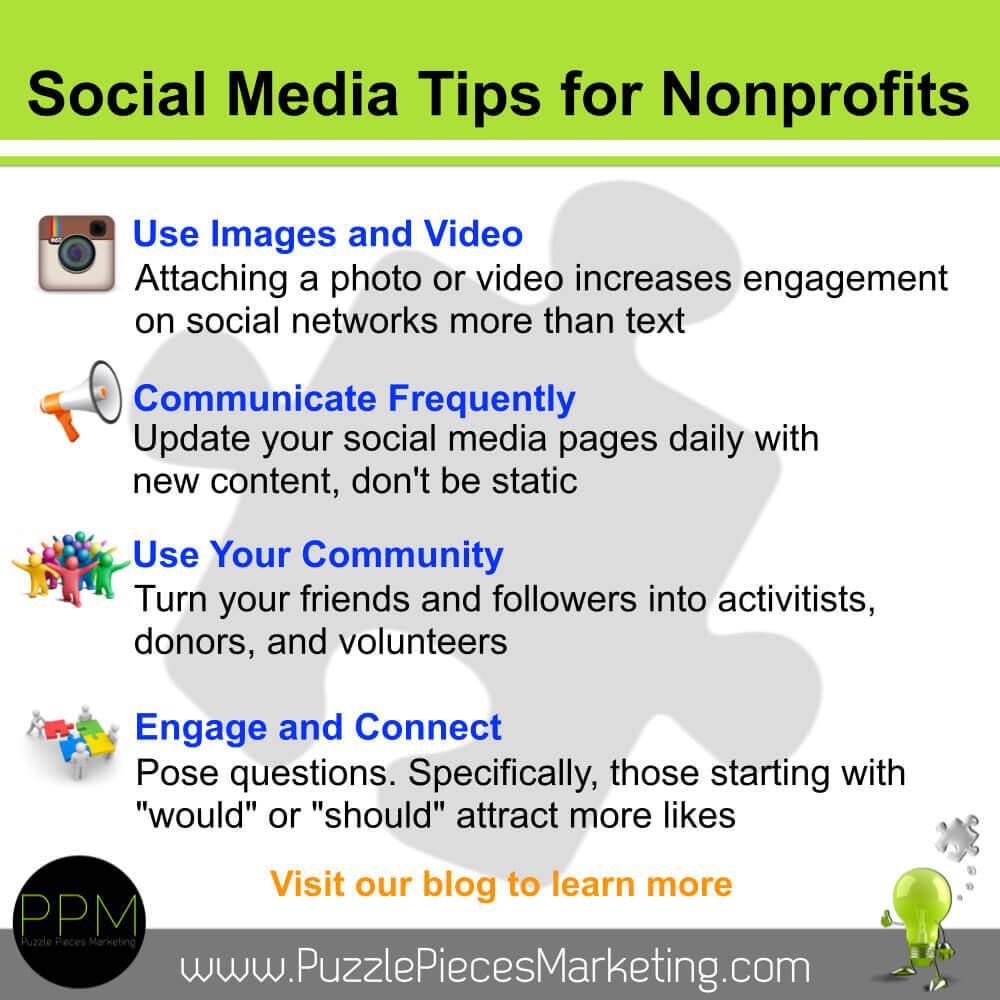 Social Media Tips for Nonprofits 3