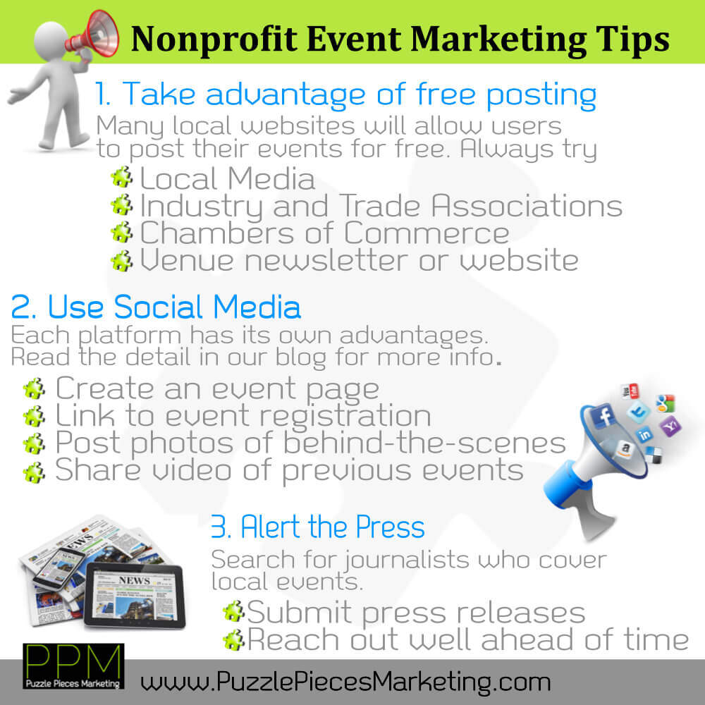 Nonprofit Event Marketing Tips