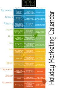 Marketing Holidays Infographic