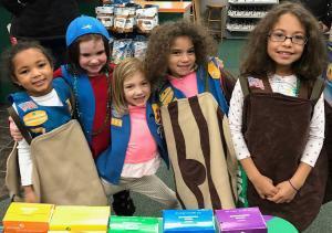 Girls Scout Cookies - Branding tips