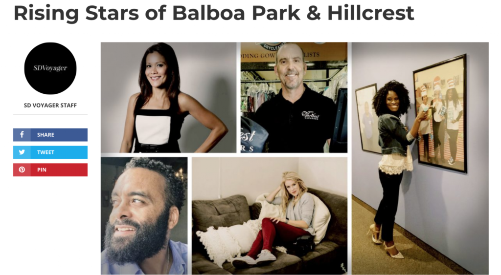 SD Voyager Rising Stars of Balboa Park and Hillcrest